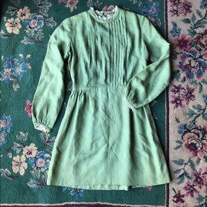 1950s/1960s Green Gunne Sax Inspired Dress